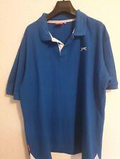 Mens T shirt blue Slazenger XXL polo neck