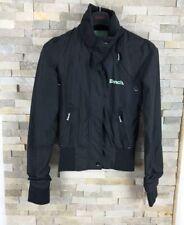 Bench Ladies Size XS black Jacket Coat Lightweight