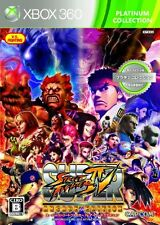 USED Super Street Fighter IV Arcade Edition (Platinum Collection) Japan Xbox 360