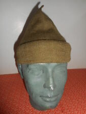 BRITISH ARMY :: WWII  COMMANDO WOOL CAP or SCARF COMFORTER  WWII