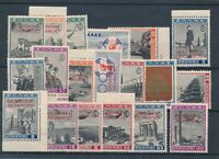 [33528] Greece Albania 1940 Good lot Very Fine MNH signed stamps