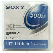 5X Sony LTX200G LTO Ultrium Tape Cartridges LTO-2 200GB Native / 400GB New