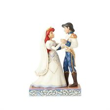 Disney Traditions Ariel and Prince Eric Wedding Figurine by Jim Shore, 4056749