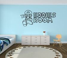 Video Games Solid Wall Decals & Stickers for Children