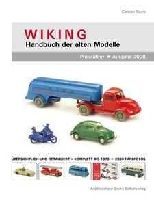 WIKING-Handbuch der alten Modelle 2008 (Restposten zum Schnäppchenpreis !)