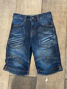 Catimini Designer Boy's Cropped  Cargo Style Jeans Adjustable Waist Age 8