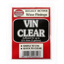 HARRIS Vin Clear Wine Finings Sachet - Treats 22½L / 5 Gallons