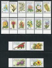 Trinidad & Tobago 1983 Blumen Flowers Blüten Blossoms Freimarken 479-494 I MNH