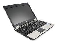 HP EliteBook 8440p Notebook / 4 GB / 250 GB / Intel i5 2,4 GHz / WIN 7 / CAM / A