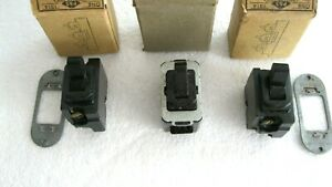 NEW VINTAGE 4 WAY TUMBLER TOGGLE SWITCH LOT 3 P&S LIGHT WALL 1314USA MADE
