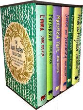 The Jane Austen Collection 6 Books Box Set, Pride and Prejudice, Emma, Mansfield