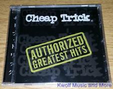 "CHEAP TRICK  ""Authorized Greatest Hits""    NEW  (CD, 2000)"