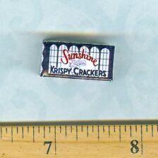 **SALE** Dollhouse Miniature Size Vintage Soda Sunshine Cracker Box