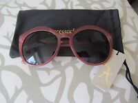 Fabulous Sunglasses From Accessorize Pink New with Carry Bag.
