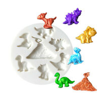 Dinosaur silicone cake molds fondant  cake decorating tools chocolate mould TDC