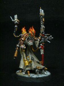 Warhammer 40k Magos Dominus converted pro painted display Adeptus Mechanicus