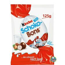 Ferrero Kinder Schoko Bons Milk Chocolate Candies Hazelnut Filling 125g 4.4oz