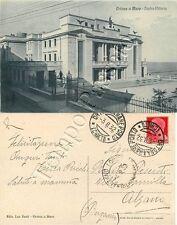 Cartolina di Ortona, teatro - Chieti, 1932