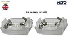 A PAIR OF REAR INTERIOR LAMP LIGHT FORD TRANSIT MK6 MK7 2000-2014