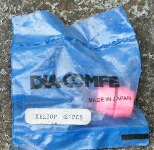Vintage NOS Dia-Compe X-1 Hot Neon Pink Bike Brake Lever Adjustment Barrel Stop