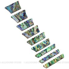 Premium SOLID ABALONE Trapezoid Crown for Les Paul® LP Style Inlay (9 piece set)
