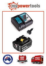Makita DC18RC 14.4V - 18V Li-Ion Rapid Battery Charger + Makita BL1830B Battery