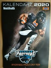 MEN'S HEALTH WALL CALENDAR 2020 - PANTHERS WROCLAW - American Football Players