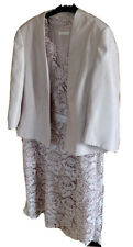 Jaques Vert Stunning  Matching Dress & Jacket Size 20 ( Mother Of Bride)