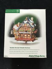 Dept 56 Alpine Village Altstadter Bierstube 56218