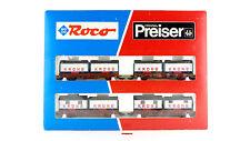 ROCO H0 44008- SET 4 VAGONES CIRCUS KRONE + PREISER - NUEVOS - OVP