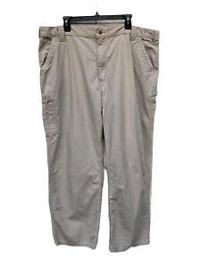 Carhartt B151 TAN 42 x 32 Dungaree Fit Carpenter Pants Workwear
