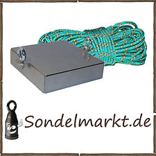MAXX-ELX Bergemagnet Suchmagnet mit 400Kg High End Kraft  Metalldetektor Wk2