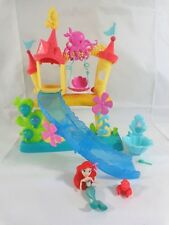 Disney Little Mermaid Kingdom Ariel's Sea Castle Polly Pocket Playset Slide Tub