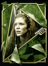 Topps Star Wars Card Trader FRACTURED ROTJ Princess Leia