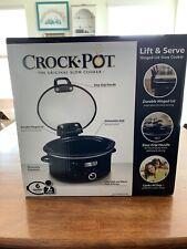 Crock-Pot - 6qt Slow Cooker - Black
