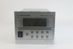 Agilent 4UHV 2x80P + 2x80N 9299402 Ion Pump Controller with Power Supply