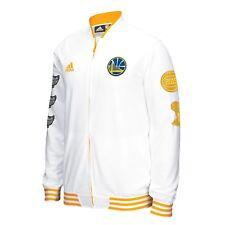 005732241 Men s Golden State Warriors adidas White Trophy Banner Full-Zip Jacket