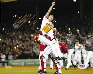 Koji Uehara Boston Red Sox Signed 8x10 Photo Autographed PSA/DNA COA AC15319