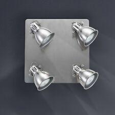 Retrofit Spot/éclairage de plafond 4 BRAS gris perle pour cuisine la vie