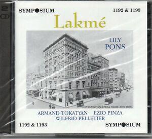 DELIBES - LAKME - LILY PONS - TOKATYAN - PINZA - PELLETIER - MET 1940 - 2CD SET