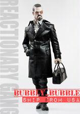1/6 Gang Style Leather Fur Coat Jeans Shoes Set Mafia Spade 4 Hot Toys TTM21 USA