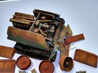 Einbaufertiges geb.ausgebranntes T - 34 Panzerwrack, MiG Produktions, Scale 1/48