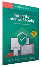 Kaspersky internet security 2018 1PC 6 months Global