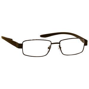 UV Reader Reading Glasses Mens Womens Black