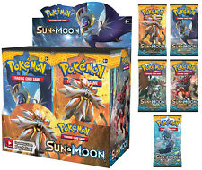 POKEMON TCG Sun & Moon Booster Box (Complete Box - 36 Booster pack)