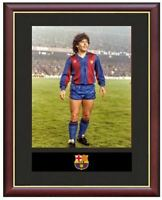 Diego Maradona Mounted Framed & Glazed Memorabilia Gift Football Soccer