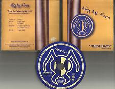 ALIEN ANT FARM These Days ULTRA RARE 2003 PROMO Radio DJ CD single DRMR 14140