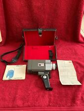 VINTAGE PACEMAKER 8 CINE CAMERA WITH CASE AND INSTRUCTIONS
