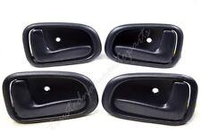 fits Toyota Inside Interior Inner Door Handle LH RH Front Rear Dark Blue Set