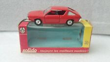 Solido france ref 196 renault 17 ts red like new genuine box d